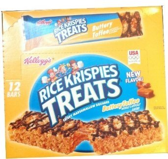 Rice Krispies Treats Buttery Toffee 12 bars, 2.5 oz