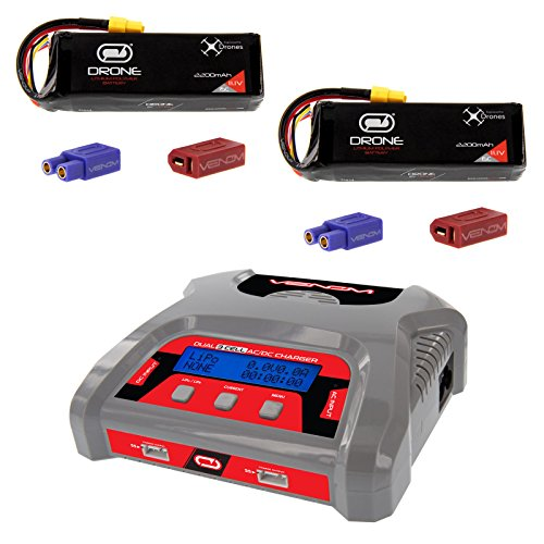 ac dc dual port lipo chargers - 9