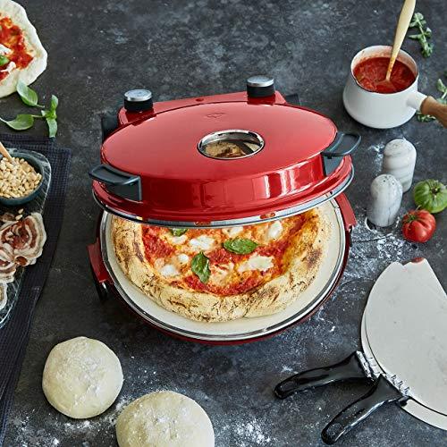Forno per Pizza Peppo, Pizza Maker Elettrico a 350 °C c 4