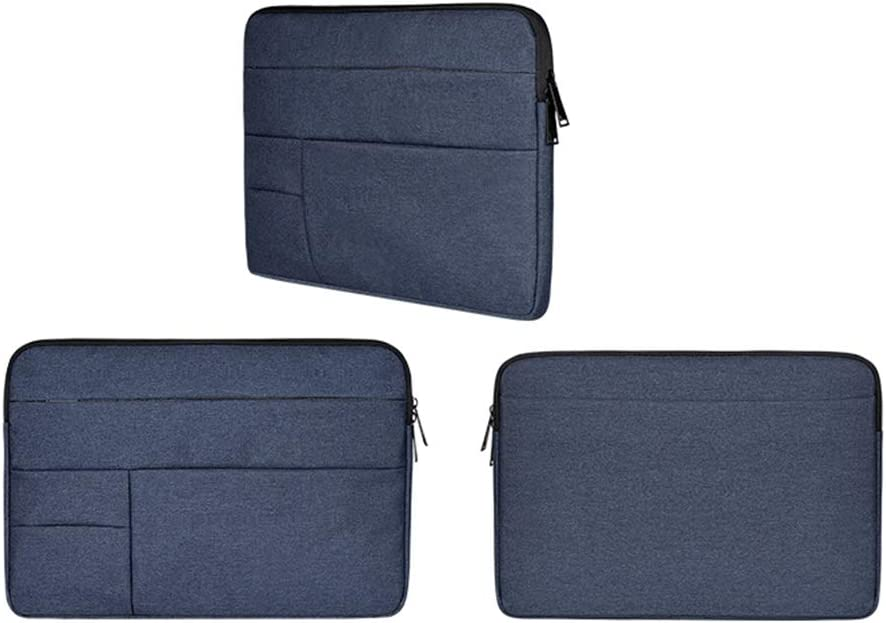 Multi-Objekt-Tasche Baomasir Sleeve Case Oxford-Stoff wasserabweisend Laptop H/ülle kompatibel 13-13,3 Zoll MacBook Pro//Air Blau gro/ße Kapazit/ät