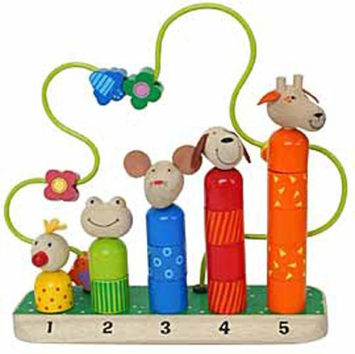 Vilac 27 x 9.2 x 29 cm Animals Counting Game by Vilac