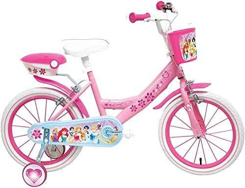 Bicicleta Niño Disney Princess 16: Amazon.es: Juguetes y juegos