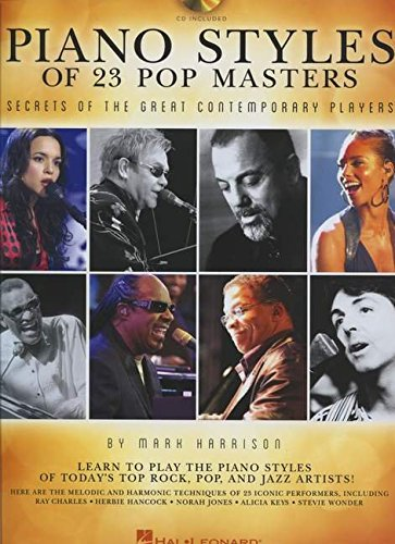 piano-styles-of-23-pop-masters-secrets-of-the-great-contemporary-players-book-cd