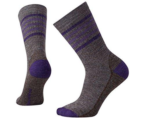 Smartwool Women's Striped Hike Medium Crew Socks Small