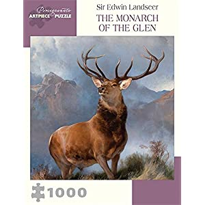 Sir Edwin Landseer The Monarch Of The Glen 1000 Piece Jigsaw Puzzle Inglese Forniture Assortite 15 Giu 2017