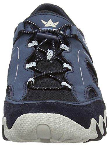 Allrounder by Mephisto Natal C.Suede 55/S.Mesh 55 Damen Sneakers Blau (OCEAN/OCEAN)