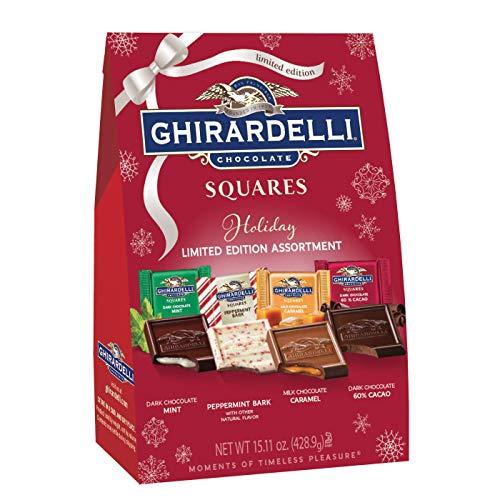 - Ghiradelli Holiday Chocolates (Assorted Holliday Chocolate Squares)