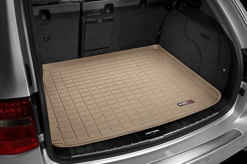 WeatherTech - 41154 - 2000 - 2005 Ford Excursion Tan Cargo Liner Behind 2nd seat - Excursion Weathertech Cargo Liner