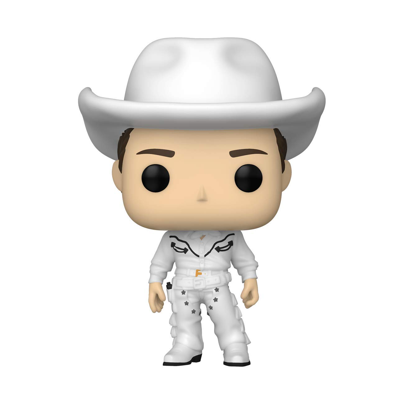 Funko POP TV: Friends- Cowboy Joey Multicolor, 3.75 inches