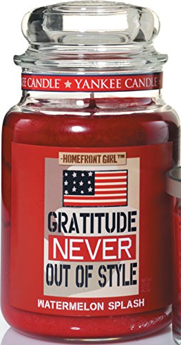 Gratitude Never Out Of Style Yankee Candle Large 22 oz Jar