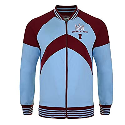 West Ham 1980 FA Cup Final Track Jkt Retro Soccer Jersey