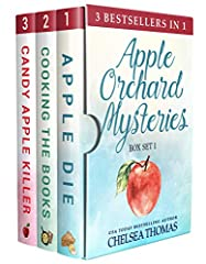 The first three books in the best-selling Apple Orchard Cozy Mystery series: Apple Die, Cooking the Books and Candy Apple Killer. Miss May catches killers. She keeps her small town safe. And she bakes the most luscious, gooiest apple pie in ...