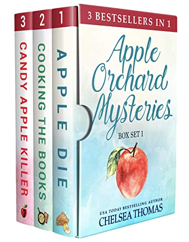 The first three books in the best-selling Apple Orchard Cozy Mystery series: Apple Die, Cooking the Books and Candy Apple Killer. Miss May catches killers. She keeps her small town safe. And she bakes the most luscious, gooiest apple pie in America....