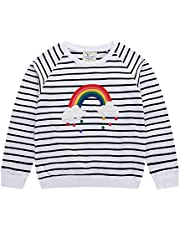 LUMMY KIDS Toddler Girl Boy Sweatshirt Hoodie Tops Cotton Casual Kids Winter Outfits 18M-7T
