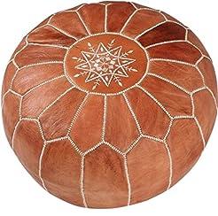 maisonmarrakech Handmade Leather Footsto...