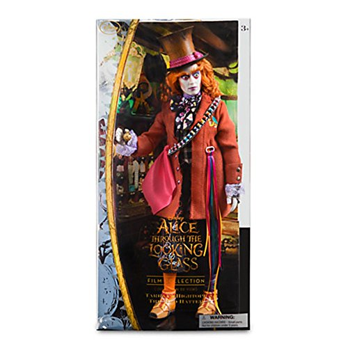 Mad Hatter Disney Film Collection Doll - Alice Through the Looking Glass - 13 (Mad Hatter Hat With Hair)