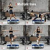 """pelpo 40"""" Folding Mini Trampoline, Fitness"""