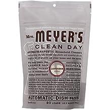 Mrs. Meyer's Auto Dishwash Packs, Lavender, 12.7 Ounce