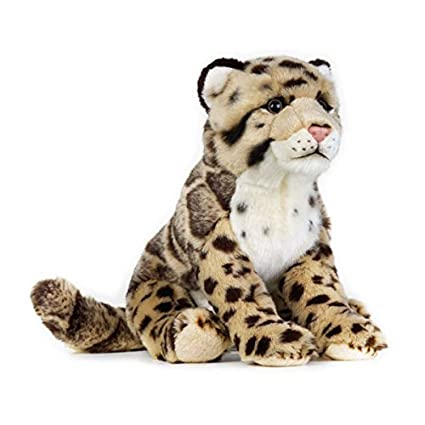 Amazon Com National Geographic Clouded Leopard Plush Made Of