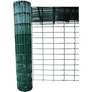 Green Blade BB-CW130 10 x 0.6m PVC Coated Garden Fence – Green