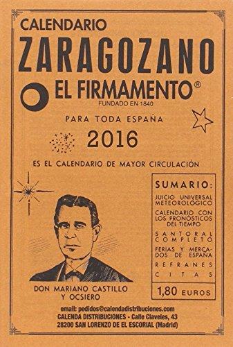 Calendario Zaragozano. 2015