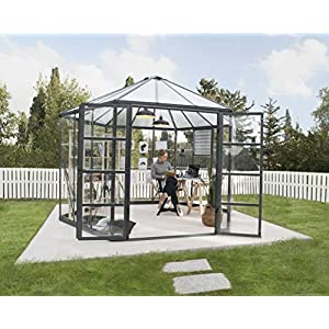 Palram OASIS Hexagonal 12 Ft Greenhouse