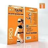 Kt Tape Elastic Sports Tape Pro, Precut, 3 Strp, Beige