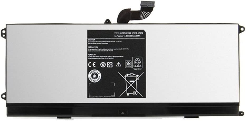 7XINbox 14.8V 4400mAh Replacement Laptop Battery for Dell XPS 15z L511Z Laptop 0HTR7 0NMV5C 075WY2