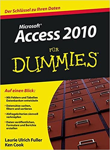 Book Access 2010 Fur Dummies (Für Dummies)