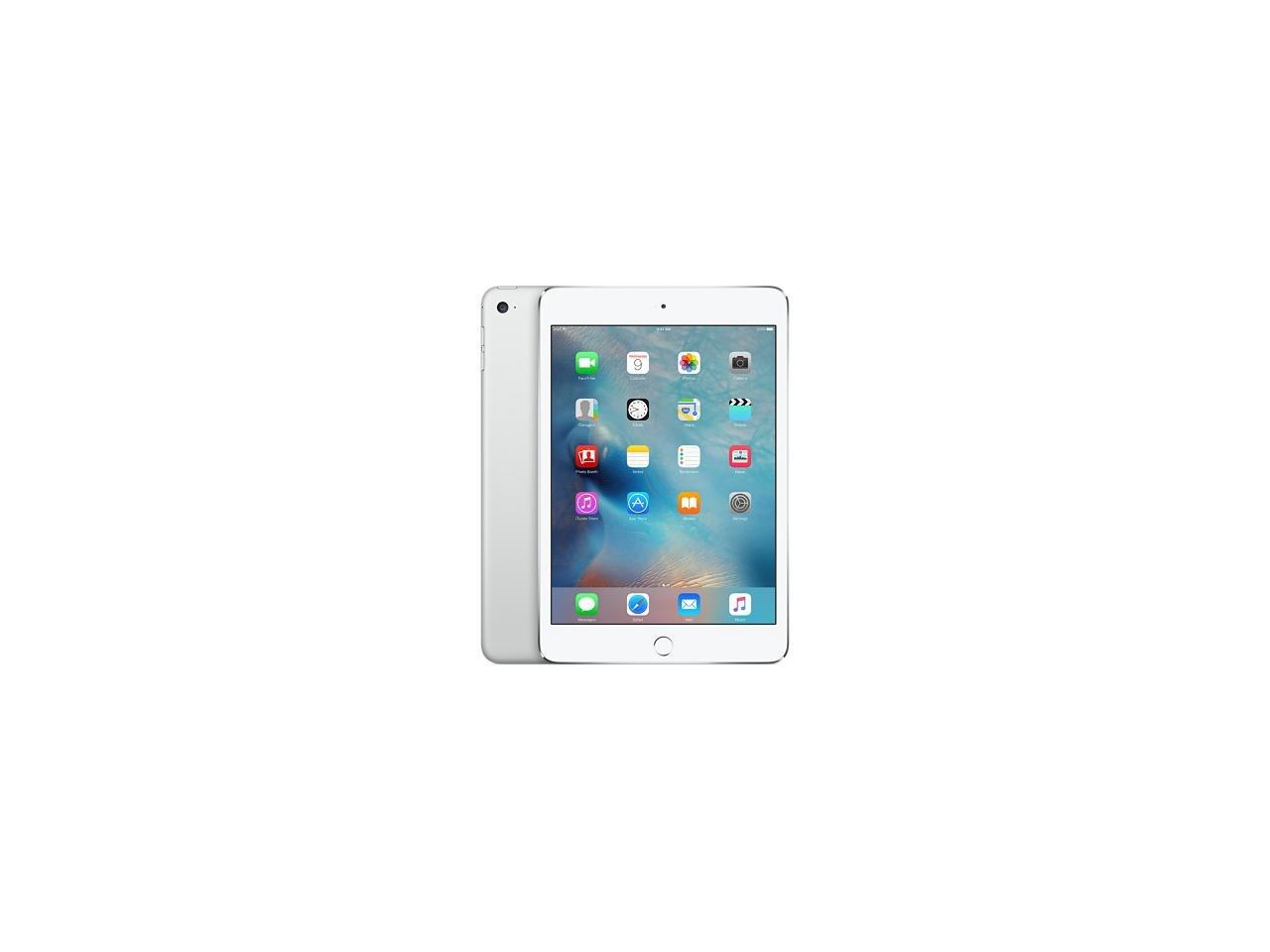 Apple iPad Mini 4 32GB Silver MNY22LL/A (Certified Refurbished)