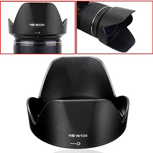 Hiquty Lens Hood for Nikon HB-N106 18-55 D3300 Lens D5300 AF-P Accessories - Hb Italian Shoes