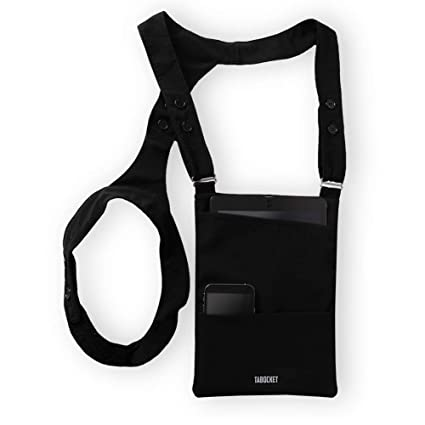 "22d3d884d329 Shoulder Holster Tablet Sleeve Bag by Tabocket for iPad Air 2, iPad Air,  iPad 4, iPad 3, iPad 2 and fits 9.7"" iPad, 10.5"" iPad Pro, 10"