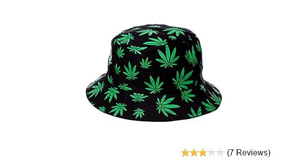 a6e49213f50 KBETHOS Weed Leaf Bucket Hat at Amazon Men s Clothing store