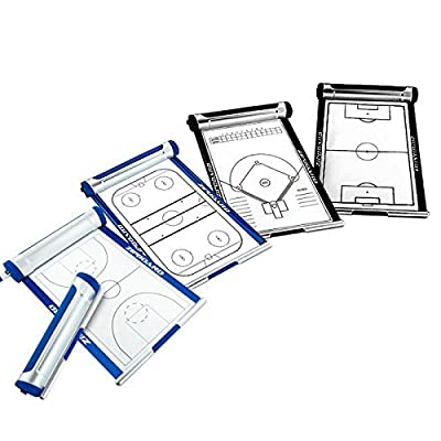 NEW Coaches Retractable Sports Roll-up Dry Erase Whiteboard with Pen. Lineups/Fieldes Markerboard: Soccer, Baseball/Softball, Basketball & Volleyball