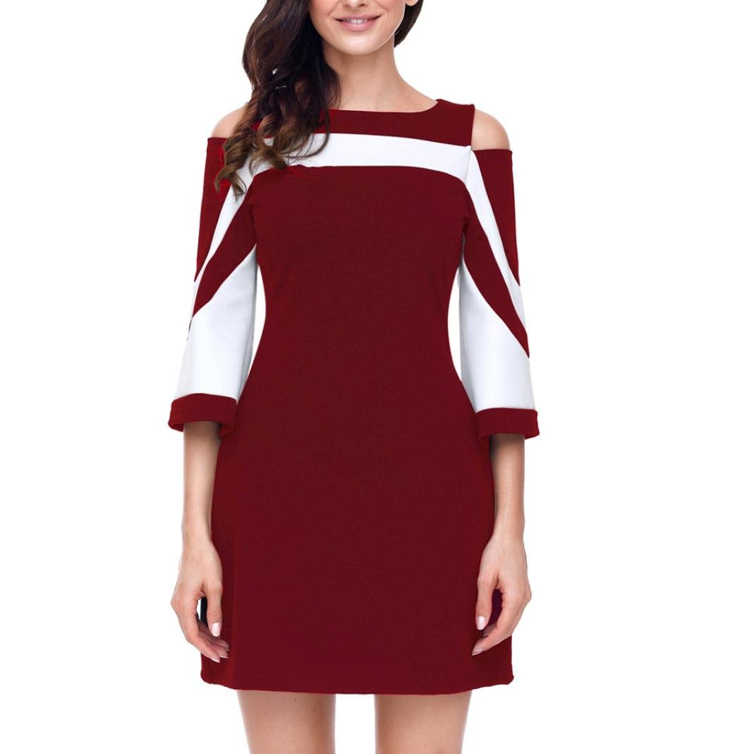 Misaky Clearance Womens Women Ladies Casual Evening Party Summer Loose Dress at Amazon Womens Clothing store: