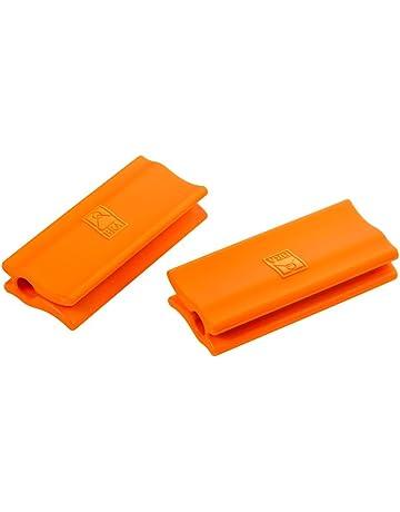 BRA Efficient - Asas de Silicona, 2 Unidades, Medida Plancha asador Liso, para