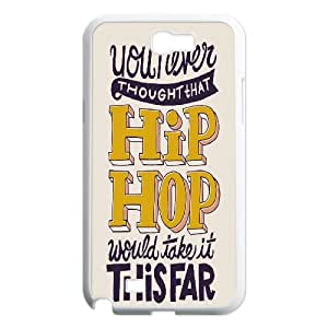Yearinspace Typography Samsung Galaxy Note 2 Cases Typography This Fair Hip Hop For Teen Girls, Samsung Galaxy Note 2 Cases For Women, [White]
