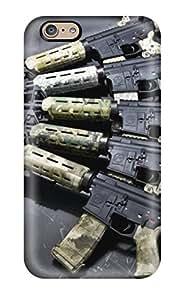 Iphone 6 Case Cover Skin : Premium High Quality Gun Camouflage Case