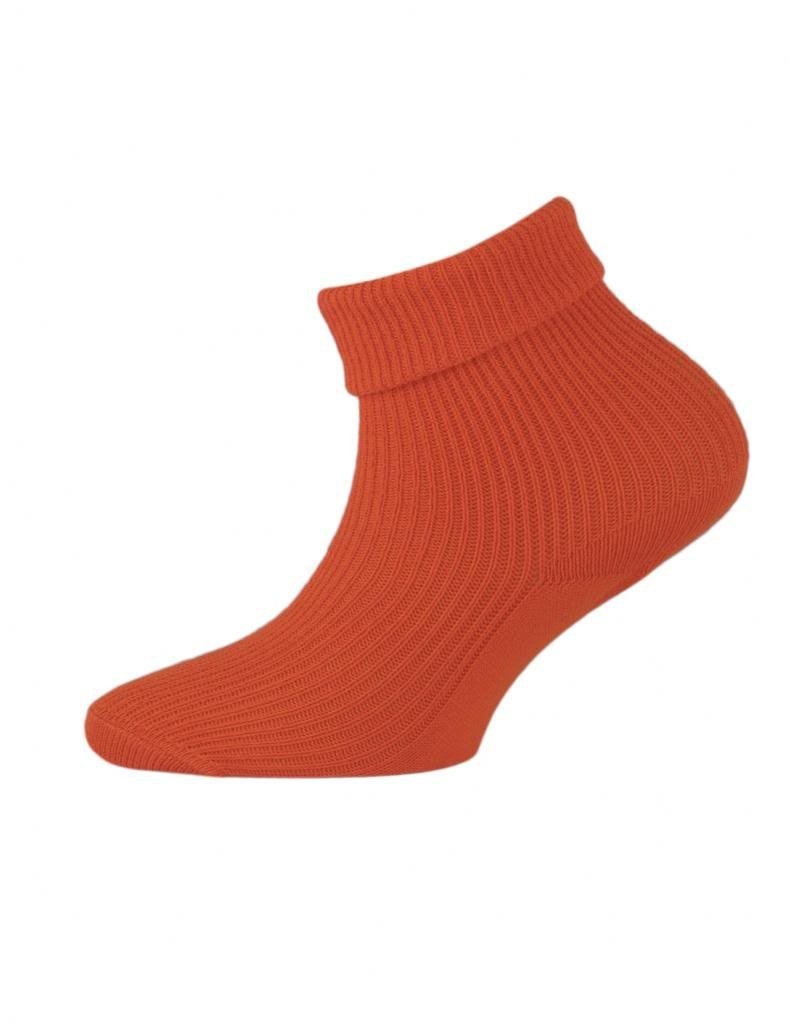 3 Pairs of Childrens Double Turndown Cotton Socks - UK Made