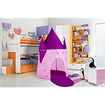 Kids Tents Princess Crystal Castle Pop Up Tent Play Tents Indoor Outdoor Tent Great Game u0026 Toy Gift For Children Fun By Alvantor  sc 1 st  Amazon.com : cheap kids play tents - memphite.com
