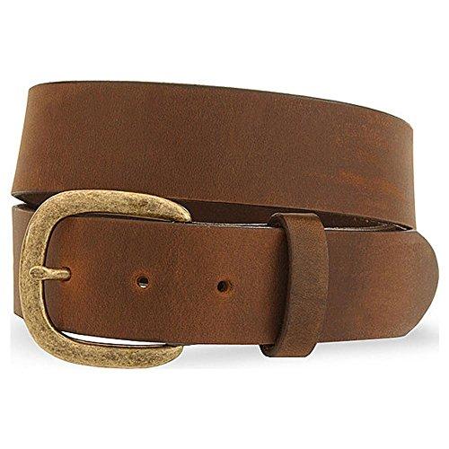 Justin Men's Basic Leather Work Belt Reg And Big Bark 46