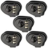 Motovecor 5 Pack Trigger lock 3 Digit Combination Gun Lock 3 Pack for Pistols Hand Gun Rifles Gun Shotguns