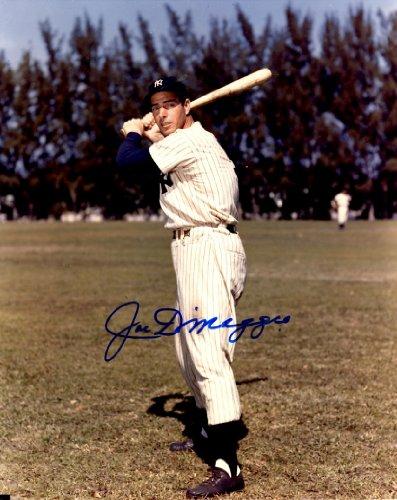 Autographed Joe Dimaggio 8x10 New York Yankees Photo