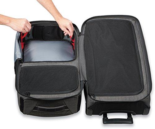 Dakine 10000784  - Unisex Split Roller Luggage Bag - Durable Construction - Split-Wing Collapsible Brace Level - Exterior Quick Access Pockets (Carbon, 85L) by Dakine (Image #4)