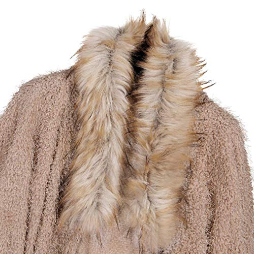 Lavorato Moda Cardigan Maglia Casual Manica Nuove Lunga Donne Cappotto A Maglione Cachi Solido Design Fangcheng Caldo w4RtOfqF