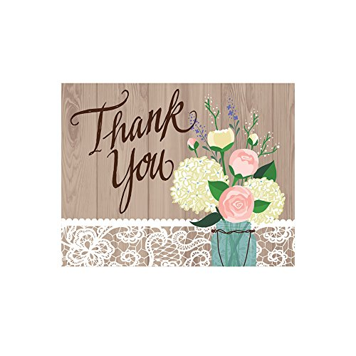 Creative Converting 891706 Thank You Cards