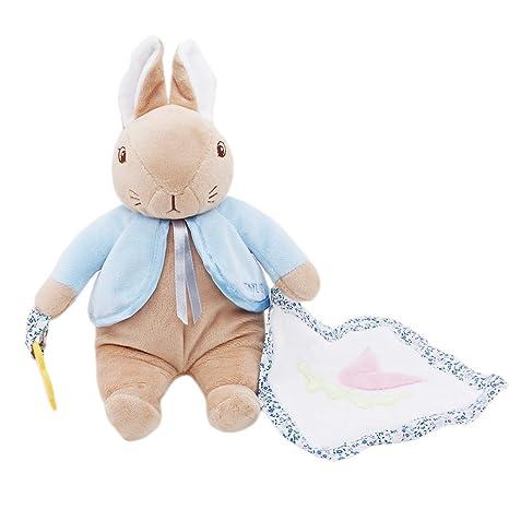SUNSKYOO- Toalla de bebé Relajante para bebé con Chupete y ...
