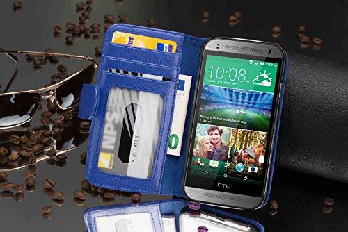 Cadorabo - Samsung Galaxy ACE 1 (S5830) Cubierta protectora de silicona TPU en diseño S-Line - Case Cover Funda Carcasa Protección en ROJO-INFIERNO AZUL-REAL