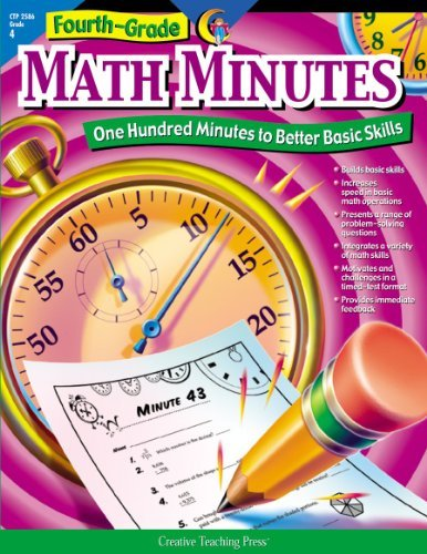By Alaska Hults - Fourth-Grade Math Minutes: One Hundred Minutes to Better Basic Skills (Tch) (5/16/02) ebook