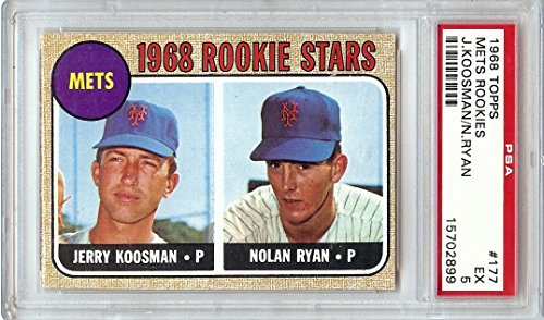 Amazoncom Nolan Ryan Jerry Koosman 1968 Topps Rc Rookie